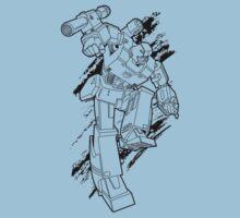 Megatron (line art 1) One Piece - Short Sleeve