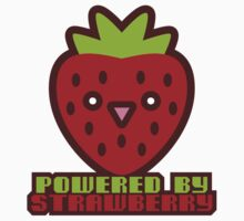 POWERED BY STRAWBERRY by auraclover