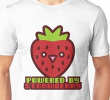 POWERED BY STRAWBERRY Unisex T-Shirt