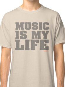 Music Is My Life Vinyl Classic T-Shirt