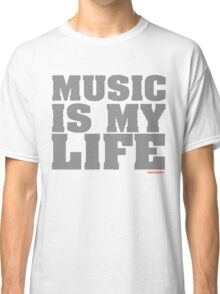 Music Is My Life Vinyl Classic T-Shirt