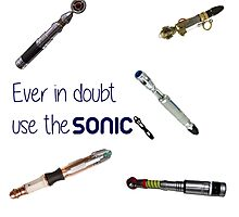 Doctor who sonic screwdriver  Photographic Print