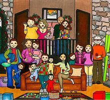 Christmas At The Cabin by Laura Hutton