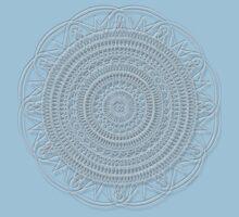 Tut Mandala - White Design Kids Clothes