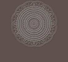 Tut Mandala - White Design T-Shirt