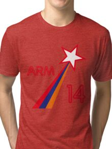 ARMENIA STAR Tri-blend T-Shirt