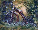 Rustic Tricycle by Michael Beckett