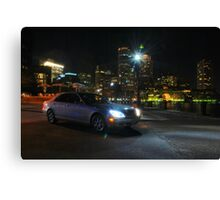 Night Out In Boston Canvas Print