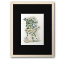 Monster gig Framed Print