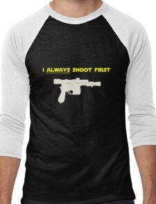 I Always Shoot First - Star Wars Men's Baseball ¾ T-Shirt