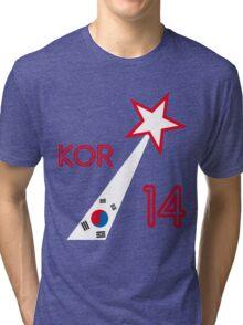 SOUTH KOREA STAR Tri-blend T-Shirt