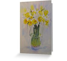 Spring of course! Greeting Card