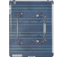 Blue Upholstery iPad iPad Case/Skin