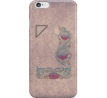 Purple flower on neutral-lilac backdrop iPhone/iPod/Samsung iPhone Case/Skin