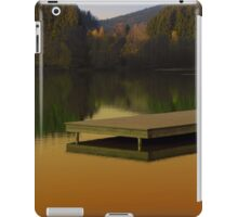 Romantic evening at the lake V | waterscape photography iPad Case/Skin