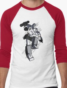 Megatron (contrast 2) Men's Baseball ¾ T-Shirt