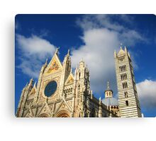 Siena Cathedral, Siena, Italy Canvas Print