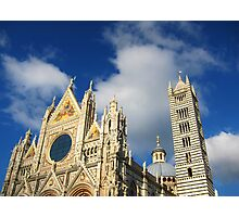Siena Cathedral, Siena, Italy Photographic Print