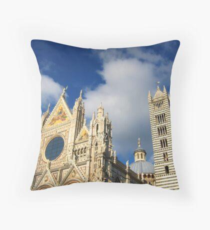 Siena Cathedral, Siena, Italy Throw Pillow