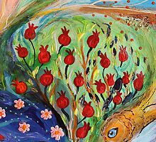 Original painting fragment 81 by Elena Kotliarker