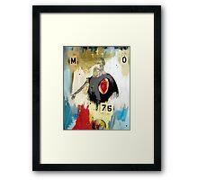 MO75 Framed Print