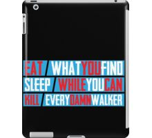 Eat. Sleep. Kill. iPad Case/Skin