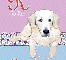 R is for (Golden) Retriever by Ludwig Wagner