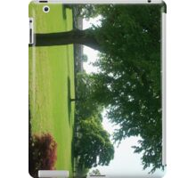 a view to the field (landscape) iPad Case/Skin