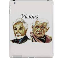 Derek Jacobi & Ian McKellen - Vicious iPad Case/Skin