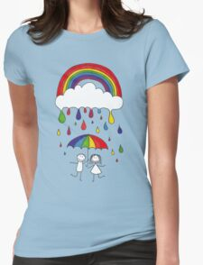 Rainbow Magic Womens Fitted T-Shirt