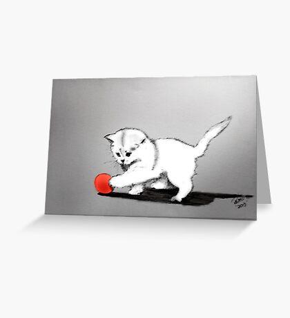 fluff.. Greeting Card