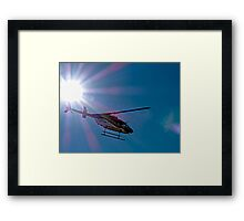 Fly me to the Sun Framed Print