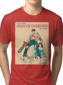 Army Of Darkness - Beige Tri-blend T-Shirt