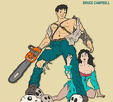 Army Of Darkness - Beige by FinlayMcNevin