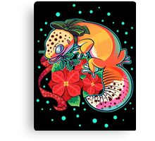 Holly Gecko Canvas Print