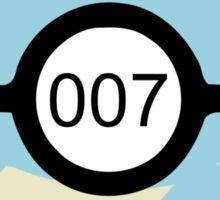 Pokeball 007 Sticker