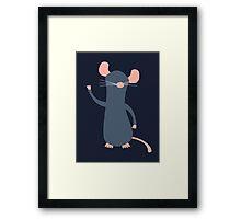 Cute Remy Framed Print