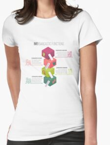 INFJ Sarcastic Functions Womens Fitted T-Shirt