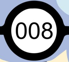 Pokeball 008 Sticker