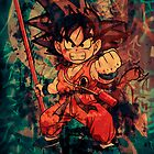 Kid Goku by Deadmansdust