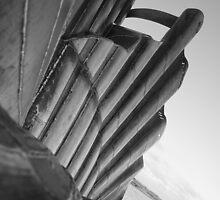 Aldeburgh Beach Benjamin Britten Scallop  by Merlin72