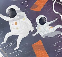 Floating In Space by Sarah Crosby