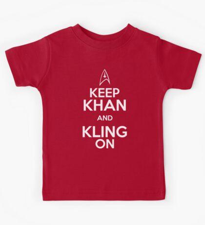 Keep Khan and Kling On Kids Tee
