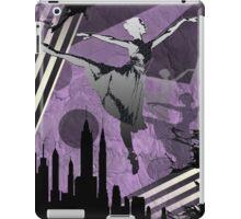 Ballerina City Sun Burst Dark Purple iPad Case/Skin