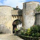 Porte Bergere, Le Dorat, Haute Vienne, Limousin. by PaulineC