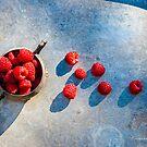 Blowing Raspberries by Jessica Manelis