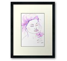 Violet Framed Print