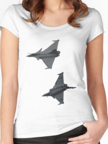 2 Rafale Women's Fitted Scoop T-Shirt