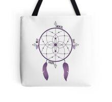 Dreamcatcher Compass Tote Bag