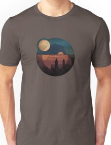 Hearts of Black Science Moon Logo Unisex T-Shirt